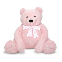 Melissa and Doug® Jumbo Teddy Bear Plush in Pink