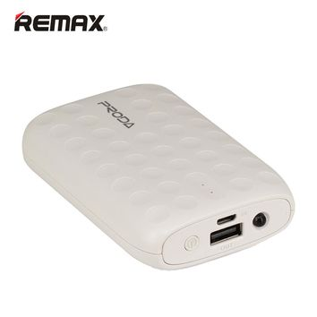 Remax Power Bank 10000mAh Portable Polymer Powerbank Backup Powers bateria externa External Battery Charger For All Moblie Phone