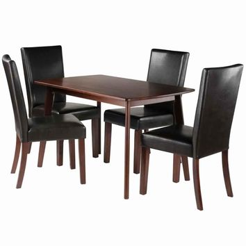 Shaye 5-PC Set Dining Table w/ Chairs
