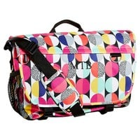 Gear-Up Graphic Multi Dots Messenger Bag