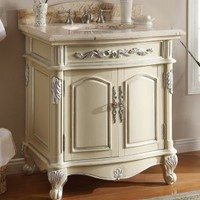 "32"" Charming Madeline Bathroom sink vanity Model Q1108108:Amazon:Home & Kitchen"