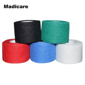 4 rolls Gauze Golf Tape  G-tape Ice Hockey Grip Tape Good Grip Hockey Goves Prevent Ice Hockey Tape