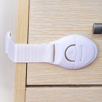 Infant Children Drawer Lock Multi-functioned Anti-pinch Drawer Track [6283904646]