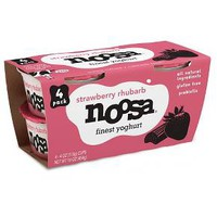 Noosa® Strawberry Rhubarb Australian Style yogurt - 4oz