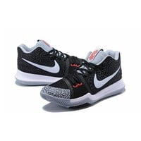 Best Deal Online Nike Kyrie Irving 3 Men Basketball Sneaker White Black Gray Red Sports Shoes