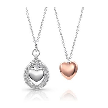 Montana Silversmith ~ Every Second Counts Heart Locket Necklace