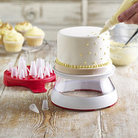 Chef'n® Rotary Icing Set in cake decoration at Lakeland