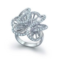 Bling Jewelry Superstar Swirl Ring
