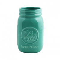 Fishs Eddy-Mason Jar 5-1/8 - 3 Color Options