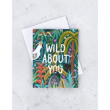 IDLEWILD WILD ABOUT YOU CARD
