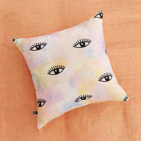 Hello Sayang For DENY Eye Hands Lips Blush Pillow - Urban Outfitters