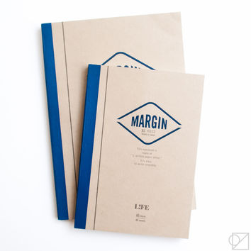 LIFE Margin Notebooks Ruled