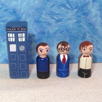 Made to Order: Deluxe 9 Piece Doctor Who Peg People Playset