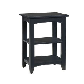 Canterbury Court 2 Shelf End Table