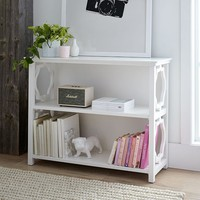 Elsie Wide Bookcase