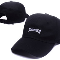 The New Thrasher Embroidery Cotton Baseball Cap Hats