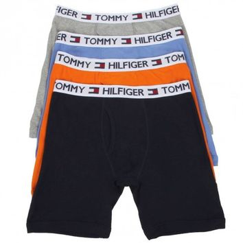 Tommy Hilfiger Classic Boxer Briefs - 4 Pack