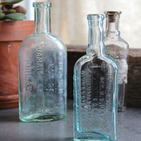 Vintage Pharmacy Bottle Collection