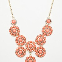 Genia Necklace in Pink - ShopSosie.com