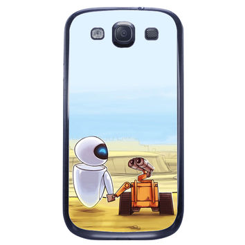 Wall E and Eve Samsung Galaxy S3 Case