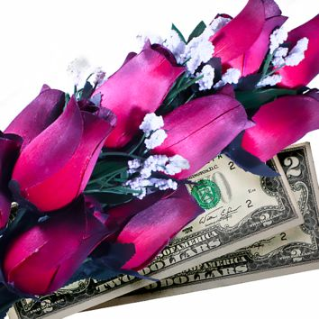Red Bouquet | Cash Roses®