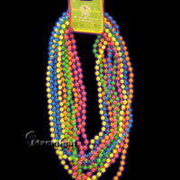 SS20113 - Neon 32 inch Beaded Necklace - Pack of 5