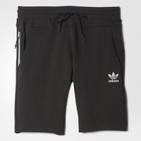 adidas Sport Luxe Fleece Shorts - Black | adidas US