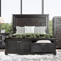 Palita Transitional Queen Bed.
