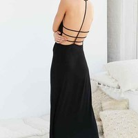 Out From Under Strappy Back Maxi Slip