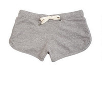 Heather Grey Lounge Shorts
