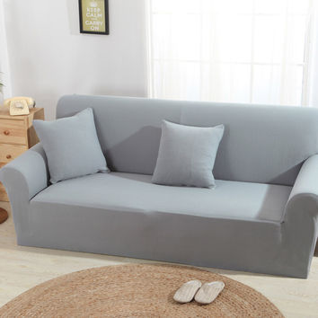 New Product Knitting Sofa Cover Sofa Slipcover Single/Two/Three/Four-Seater Stretch Sofa Couch Cover Capa De Sofa Decoration