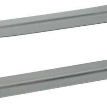 "National Hardware® N264-960 Mail Slot Sleeve, 1-1/2"", Stainless Steel"