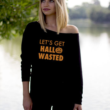 Let's Get Hallowasted Halloween Party Outfit