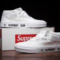 Best Online Sale Supreme x Vans Half cabl White Casual shoes