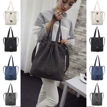 Women Handbag Shoulder Bags Tote Purse Canvas Travel Large Messenger Hobo Bag