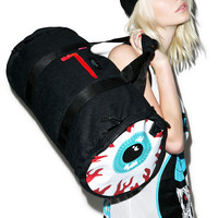 Mishka Keep Watch Denim Duffle Bag One