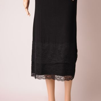 3/4 Length Lace Hem Skirt Extender