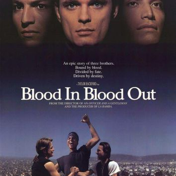 Blood In. . .Blood Out: Bound by Honor 27x40 Movie Poster (1992)