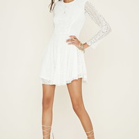 Lace A-Line Dress | Forever 21 - 2000176243