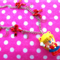 Chibi Sailor Moon Anime Necklace
