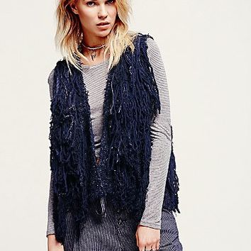 Free People Womens Pinata Parade Vest
