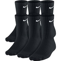 Nike Men's Performance Cotton Cushioned Crew Socks