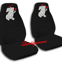 NICE SET OF ELEPHANT CAR SEAT COVERS 8COLORS AVAILABLE