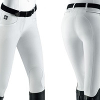 Equiline Ash Knee Patch Breech
