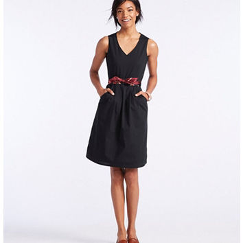 Women's The Signature V-Neck Poplin Dress