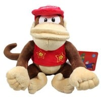 """Global Holdings Super Mario Plush - 6"""" Diddy Kong"""