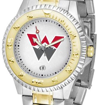 Western State Colorado University Mountaineers Competitor Two-Tone Watch