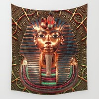 Tutankhamun Wall Tapestry by Inspired Images