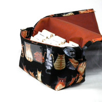 Mega Coupon Organizer Cats Fabric