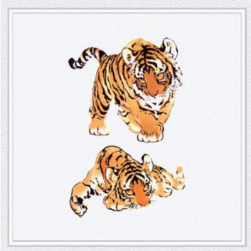 Tattoo temporary, Long lasting tattoo - The tiger, Little tiger